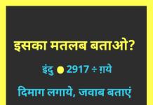 Hindi Puzzles