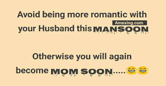 Avoid being more romantic with your Husband