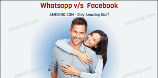 Joke : Difference between Whatsapp and Facebook