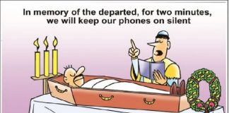 Funny Cartoon Jokes on Mobile use (2)