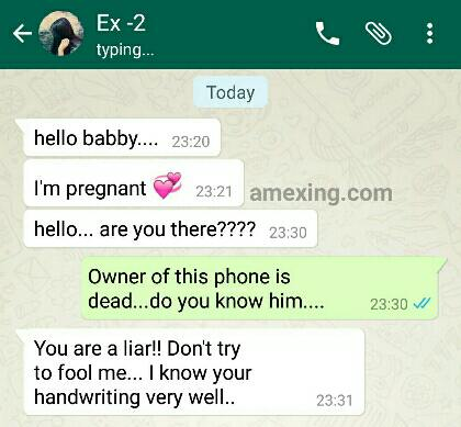 Whatsapp Chat Between Boyfriend And Ex Girlfriend Jokes