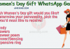 Womans day special whatsapp dare game