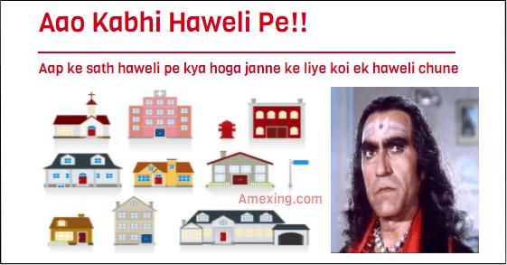 Aap Kabhi Haweli Pe Whatsapp Game!!