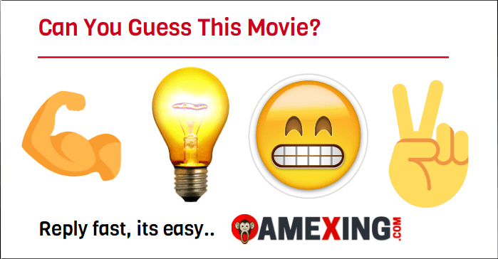 Can you guess this movie?   💪🏽 + 💡+ 😬 + ✌🏼  Reply fast, it's easy.....