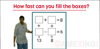 How fast can you fill the boxes