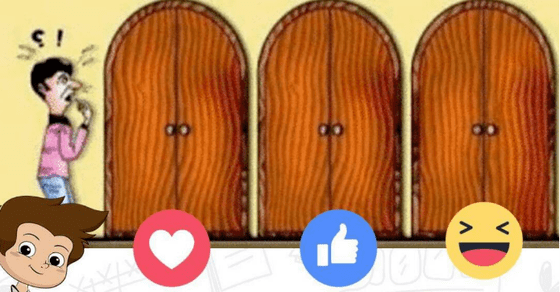 Choose a door to see what you get