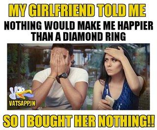 Happy Birthday Girlfriend Funny Meme : What qualities do you have # joke jokes puzzles whatsapp game