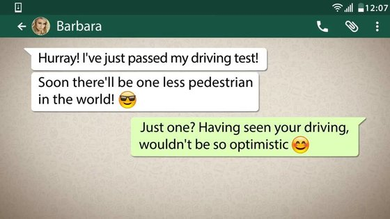 5 funny chat on whatsapp