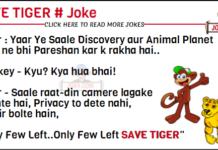Save tiger joke