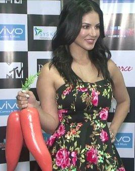 Sunny Leone MTV Splitsvilla 10 promotion