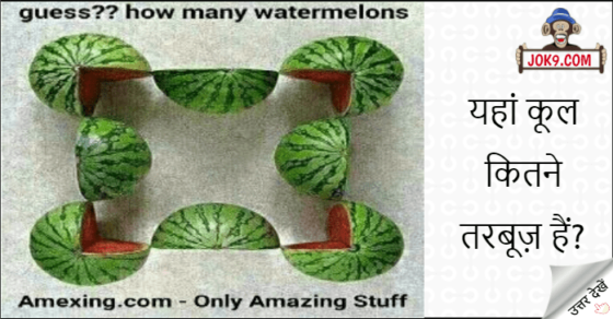 How many watermelons puzzle answer