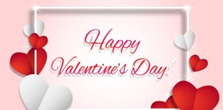 Happy Valentine message