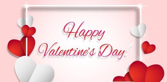 Happy Valentine message