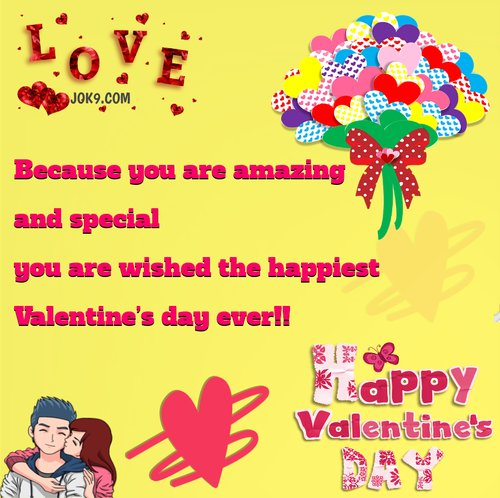 Valentine Day Message