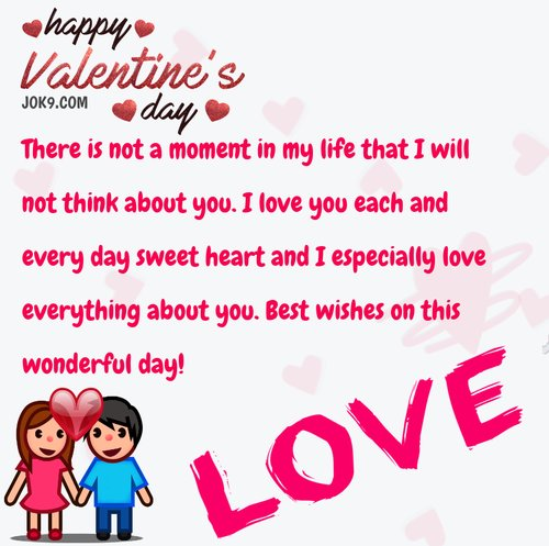 Happy Valentine greetings